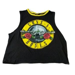 Guns and Roses   Tank Top   High Neck   Size S